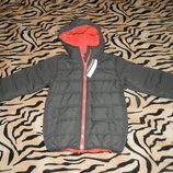 Куртка курточка демисезонная на флисе на мальчика. Польша. Новая.