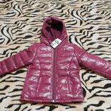 Курточка куртка демисезонная на флисе на мальчика, на девочку. Польша. Новая.