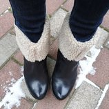 Сапоги женские, утеплённые ботинки Clarks