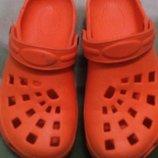 кроксы для девочки на 32-33 размер 21см