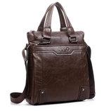 Кожаная сумка-портфель POLO