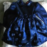 Нарядное платье немецкого бренда Smily р.92