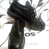 Кожаные ботинки швейцарской фирмы Fretz Men