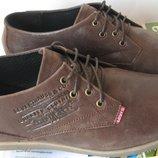 Levis мужские кожаные стильные удобные качественные туфли весна лето осень Левайс обувь Турция мода