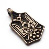 Кулон «Тризуб», історичний, бронза
