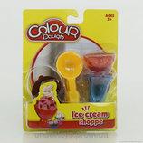 Тесто масса формы для лепки мороженое развивающий набор