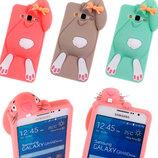 Силіконовий чохол - бампер 3D Кролик для моделі Samsung Galaxy Grand Prime G530, 531