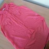Блузка женская 36 размер New Look Нью Лук бренд оригинал розовая без рукавов