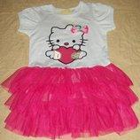 Классное платье Hello Kitty