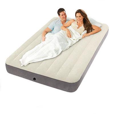Кровать-Велюр Intex Бежевая 64708