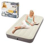 Кровать-Велюр Intex 64707 Бежевая