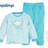 Махровая пижама на девочку р.62/68 Impidimpi Германия