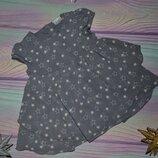 платье в звёздочки на 3 мес, туникой будет до 1,5 лет