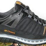 Salomon мужские кожаные весенние удобные кроссовки ботинки туфли демисезонная супер обувь