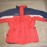 Зимняя куртка пуховик columbia 116. . 5-6 лет.