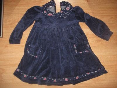Платье 104-116рост