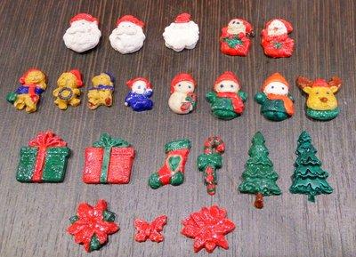 Гипсовые фигурки новогодние дед мороз, снеговик, елочка, носок, посох, подарок и др. 3D разукрашка