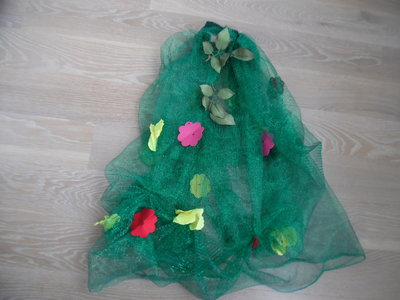 карнавальный 4-6 лет костюм весна цветок листик осень