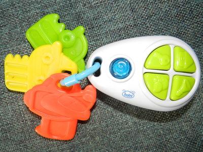 Музыкальные ключики - грызунки baby. Игрушка новая,но без коробки.