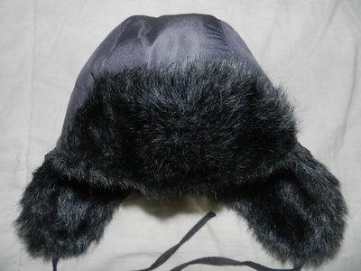 Очень тёплая шапка ушанка с меховыми ушками,на возраст 3-5 лет