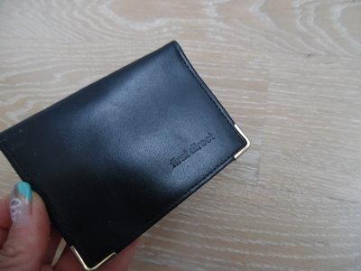 портмоне кошелек First direct оригинал кожаный англия черный