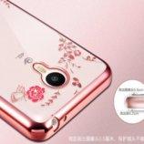 Тонкий TPU Чехол панелька Meizu Pro 6 Мейзу Про6