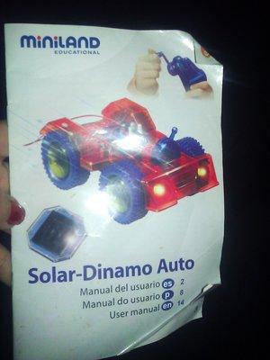 Солнечная Динамо Машина. Solar Dinamo Auto, как конструктор