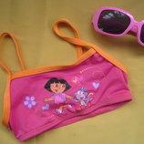 Новый яркий пляжный топ Dora,р.92-98,Сток