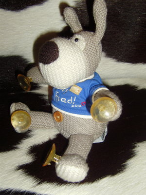 шикарная мягкая игрушка-присоска Собачка Буфи Boofle Англия оригинал 24 см