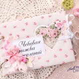 Чековая книжка желаний для нее, романтичный подарок