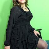 Распродажа Красивое черное платье LILU -collection 40-46