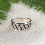 Кольцо серебряное Свидание