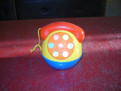 телефон-неваляшка детский