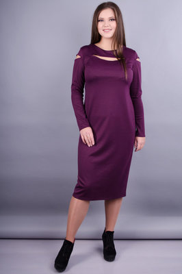 Шикарное платье Эксклюзив Charm Style Марсала