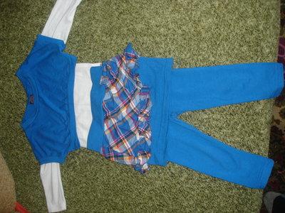 Продано: костюм туника лосины