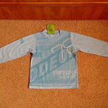 Новый реглан XIAO GALA батник футболка 5-7 лет рост 116-122 см
