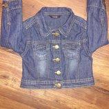 Джинсовый пиджак George на 1,5-2 года.