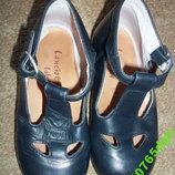 Кожаные детские туфли на 23 стелька 14,4 см