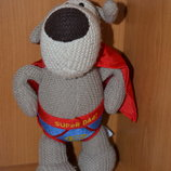 Boofle. Коллекционная игрушка Собачка Буффи Англия кукла супермен