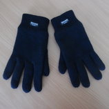 Перчатки краги мужские Thinsulate вязанные черные