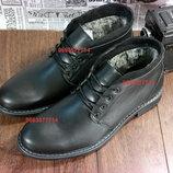 Стильная классика, красивейшие зимние ботинки из 100%кожи, метал шип, качество гарантирую