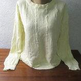 Женский теплый свитер большого размера
