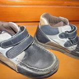 кожаные ботинки 29-30 размер