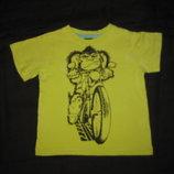 2-3 года, яркая футболка Обезьянка, для дома