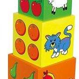 Набор кубиков Viga Toys Пирамидка