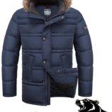 Мужская зимняя куртка Braggart Titans Большие размеры Две модели 3 расцв