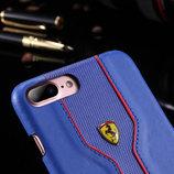 Чехол Ferrari для Apple iPhone 7 и iPhone 7 Plus, накладка