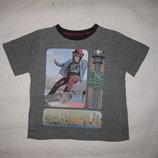 4-5 лет, крутая футболка с обезьяной