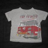2-4 года, футболка Автобус