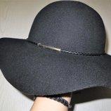 фетровая шляпа 100%шерсть Marks&Spencer M-L